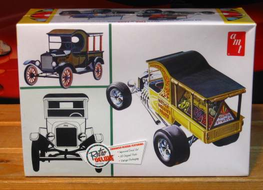 AMT 1925 Model T Ford Fruit Wagon Kit Sealed