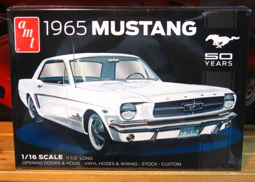AMT 1965 Mustang 1/16 Scale Kit NEW!