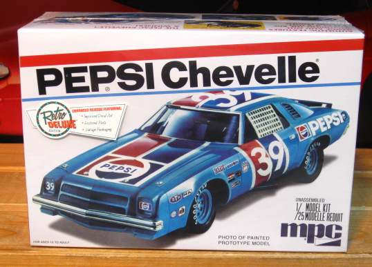 #39 Pepsi Chevelle MPC New 2014 Issue Kit Sealed
