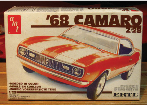 AMT 1968 Camaro Z/28 Early 1980s Issue Sealed