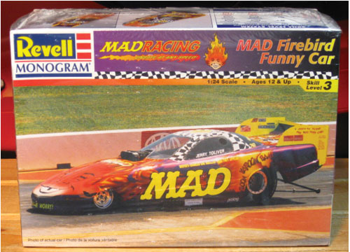 Revell MAD Firebird Funny Car Kit Sealed