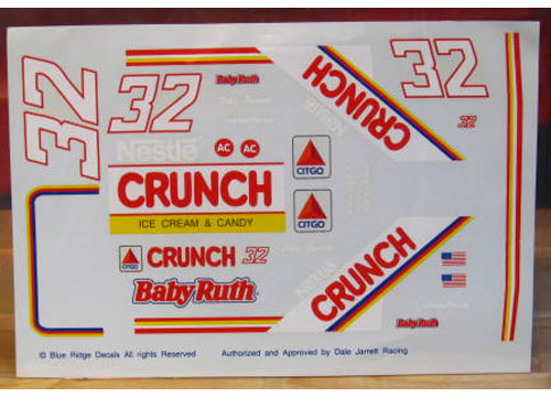 #32 Nestle Crunch Dale Jarrett Blue Ridge