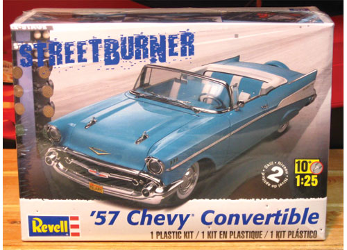 Revell 1957 Chevy Convertible Kit Sealed