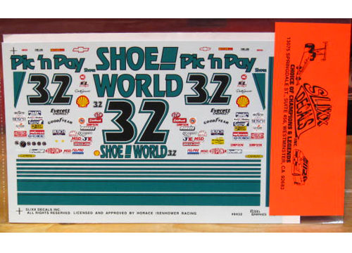 #32 Shoe World Dale Jarrett 1994 Slixx