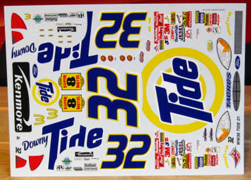 #32 Tide Ricky Craven 2001 Wetworks
