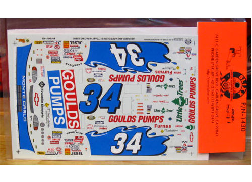 #34 Goulds Pumps Mike Mclaughlin 1998 Slixx