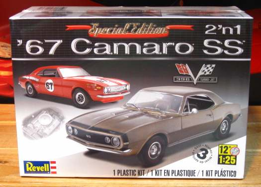 Revell 1967 Camaro SS Special Edition Kit Sealed
