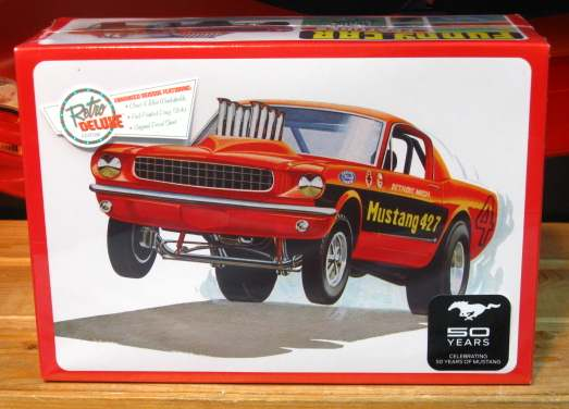 AMT 1965 Mustang Funny Car Kit 2014 Issue Sealed