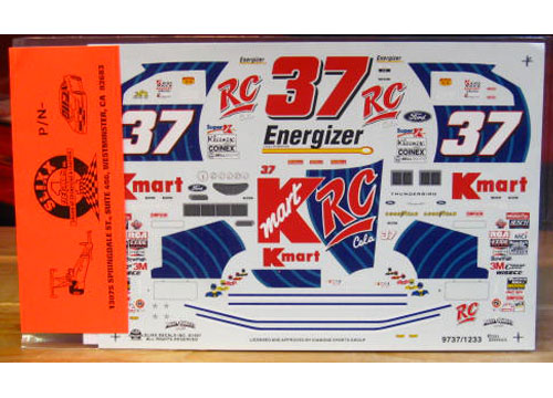 #37 RC Cola Early 1997 Slixx