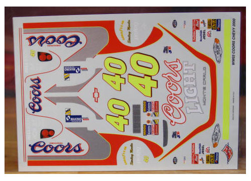 #40 Coors Light Sterling Marlin 2000 Wetworks