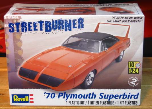 Revell 1970 Plymouth Superbird Kit Sealed