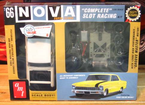 AMT Slot Car 1966 Chevy Nova Sealed