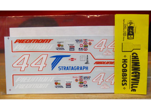 #44 Piedmont Terry Labonte 1984 Chimneyville