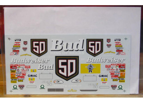 #50 Budweiser Ricky Craven 1998 Sunset