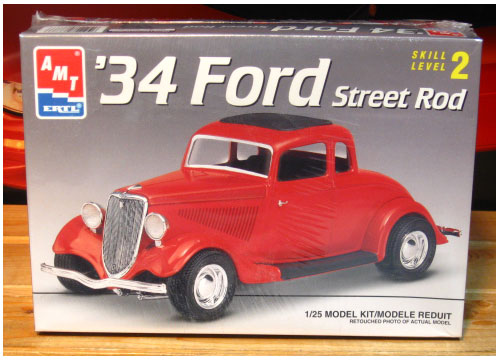 AMT '34 Ford Street Rod Kit Sealed