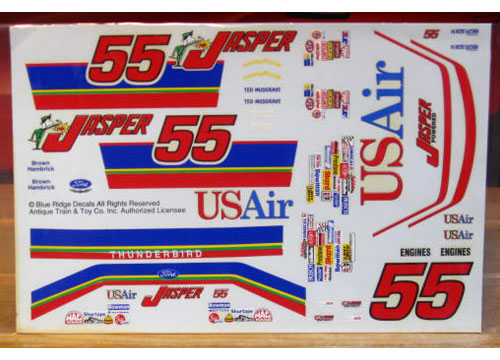 #55 Jasper Ted Musgrave 1993 Blue Ridge