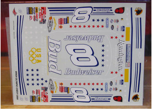 # 8 Bud Olympic 2000 Dale Earnhardt Jr Wetworks
