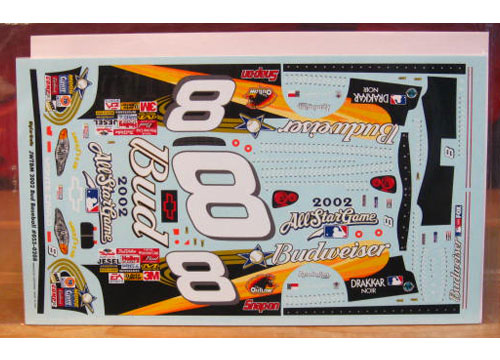 # 8 Budweiser MLB All Star Dale Earnhardt Jr 2002 JWTBM