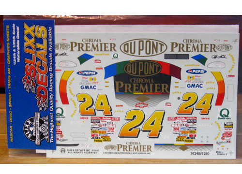 #24 Chroma Premier Jeff Gordon 1997 Slixx