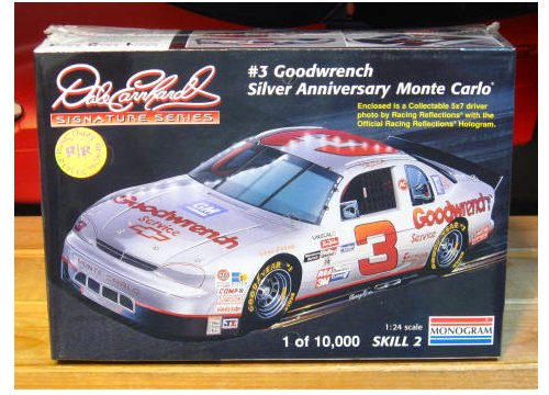 # 3 Goodwrench Silver Dale Earnhardt Racing Reflections Kit