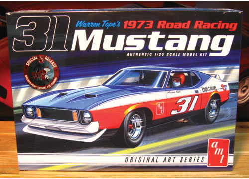 AMT Warren Tope 1973 Mustang New 2014 Issue