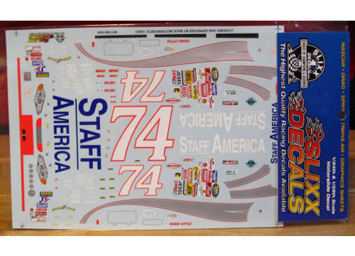 #74 Staff America Chad Little 2001 Slixx