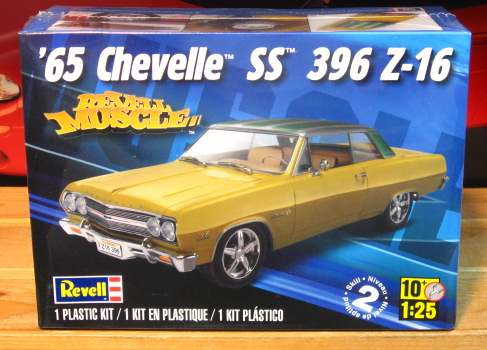 Revell 1965 Chevelle SS 396 Z-16 Kit Sealed