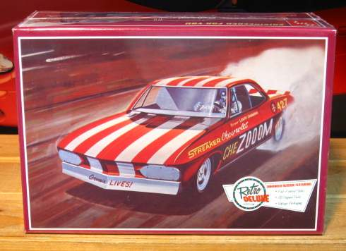 AMT Chezooom Corvair Funny Car Kit Sealed