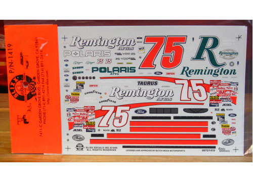 #75 Remington Ted Musgrave 1999 Slixx