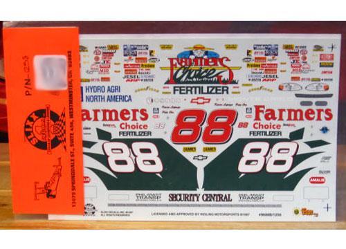 #88 Farmers Choice Kevin Lepage 1996 Slixx