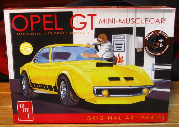 AMT Opel GT Kit 2014 Issue Sealed
