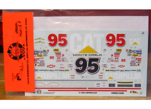 #95 Caterpillar David Green 1996 Slixx