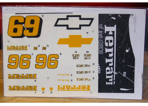 #96 Ferrari of Los Gatos 1991