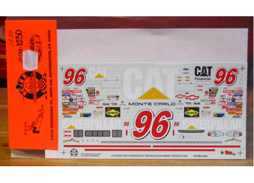 #96 Caterpillar David Green 1997 Slixx