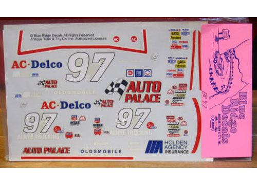 #97 AC Delco Joe Bessey 1993 Blue Ridge
