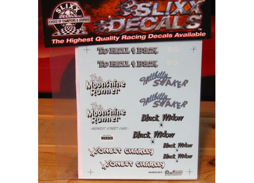 Slixx #8019 Gasser Mini Sheet 5
