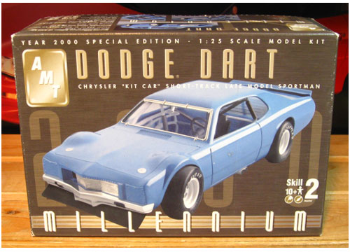AMT Dodge Dart Kit Car 2000 Issue Complete