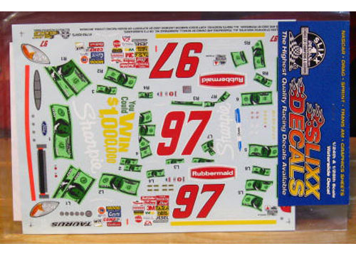 #97 Sharpie Win $1,000,000 Kurt Busch 2002 Slixx