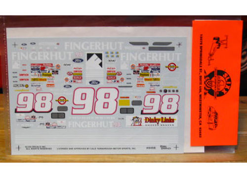 #98 Fingerhut Jeremy Mayfield 1994 Slixx