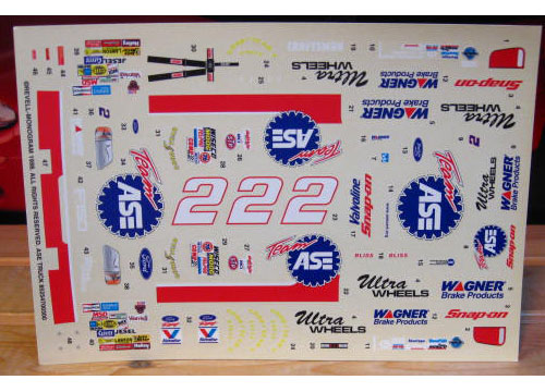# 2 ASE Mike Bliss 1998 Ford Monogram