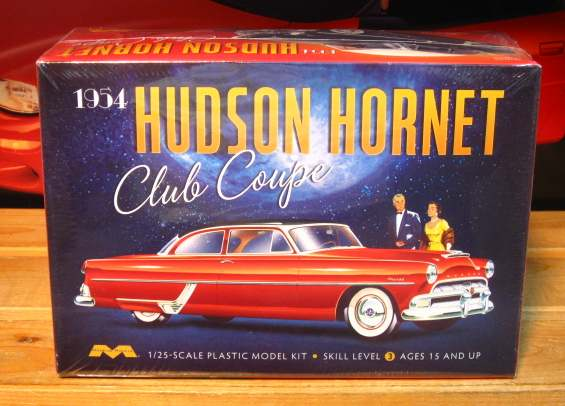 Moebius Models 1954 Hudson Hornet Club Coupe Kit Sealed