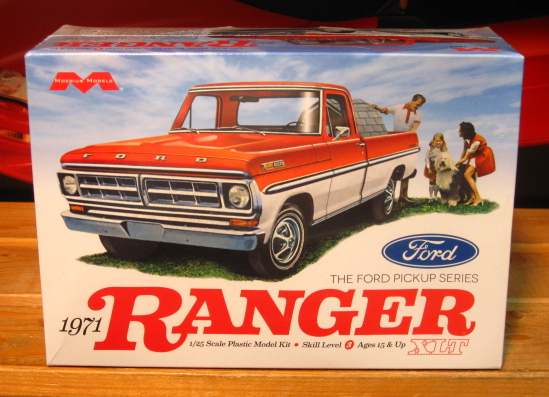 Moebius Models 1971 Ford Ranger XLT Pickup Kit Sealed