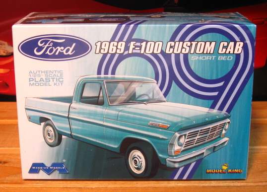 Moebius Models 1969 Ford F-100 Pickup Kit Sealed
