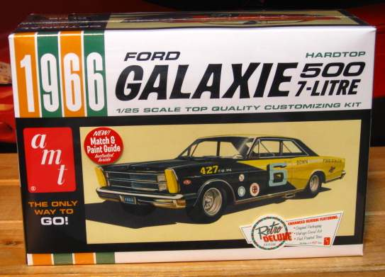 AMT 1966 Ford Galaxie 500 Kit Sealed