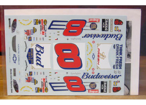 # 8 Bud Born On Dale Earnhardt Jr 2004 RaceScale