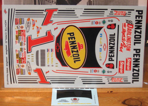 # 1 Pennzoil Steve Park 2002 Too Tough to Park Wetworks