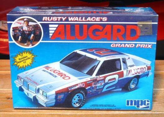 # 2 Alugard Rusty Wallace 1985 Grand Prix MPC Kit Sealed