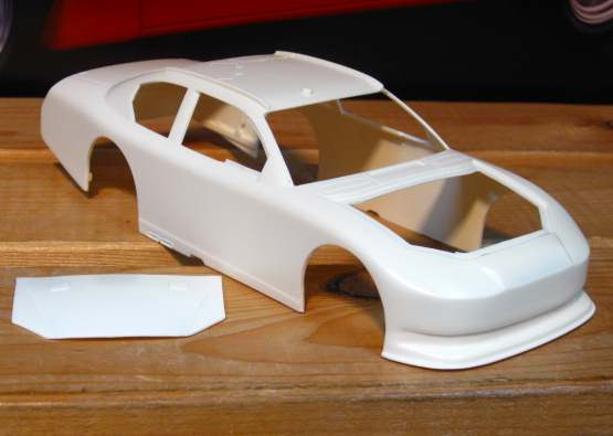 Resin Body 2011-12 Dodge Charger Powerslide