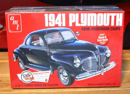 AMT 1941 Plymouth Coupe 2015 Issue Sealed