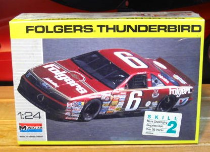# 6 Folgers Mark Martin 1990 Monogram Kit Sealed